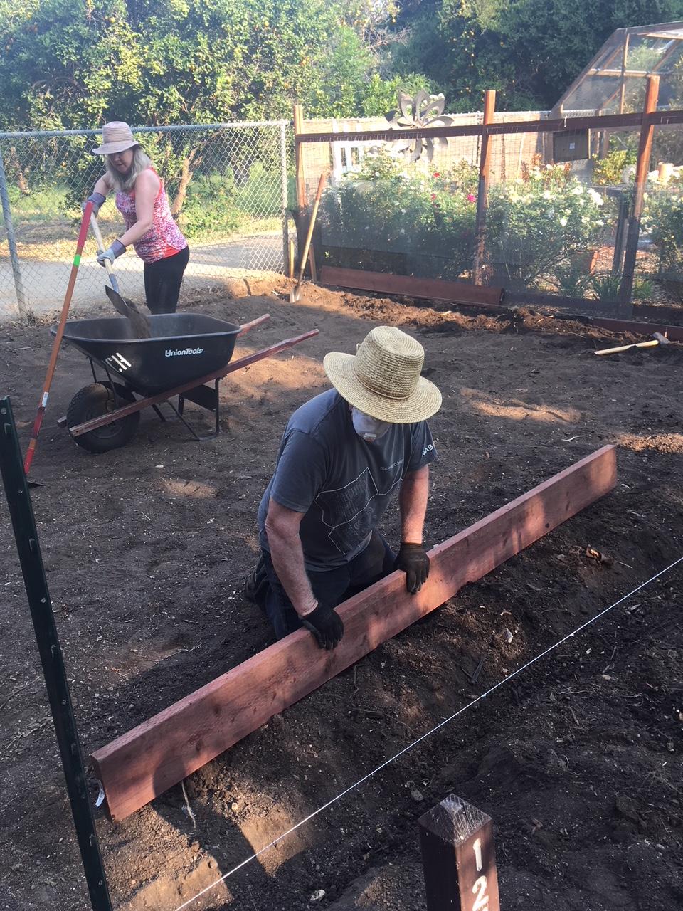 shade house foundation